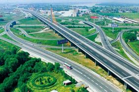 濟青高速公路零點立交橋